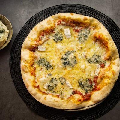 4 Quesos - Vitali Pizza - Delivery - Entrega y reparto de pizzas a domicilio en Barcelona