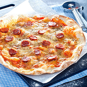 Chorizo and Cheese - Vitali Pizza - Pizzas home delivery - Barcelona