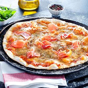 Jamon y queso - Vitali Pizza - Delivery - Entrega y reparto de pizzas a domicilio en Barcelona