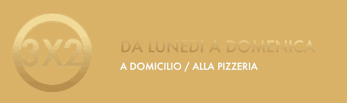 Offerta 3x2 - Vitali Pizza - Consegna - Consegna e consegna di pizze a domicilio a Barcellona