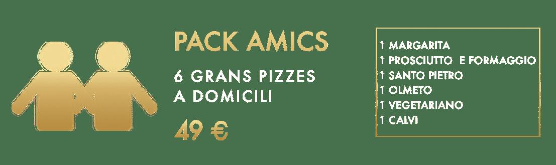 Pack Amigo - Vitali Pizza - Home Delivery Barcelona