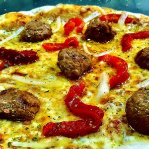 Boloñesa Vegan - Vitali Pizza - Delivery - Entrega y reparto de pizzas a domicilio en Barcelona