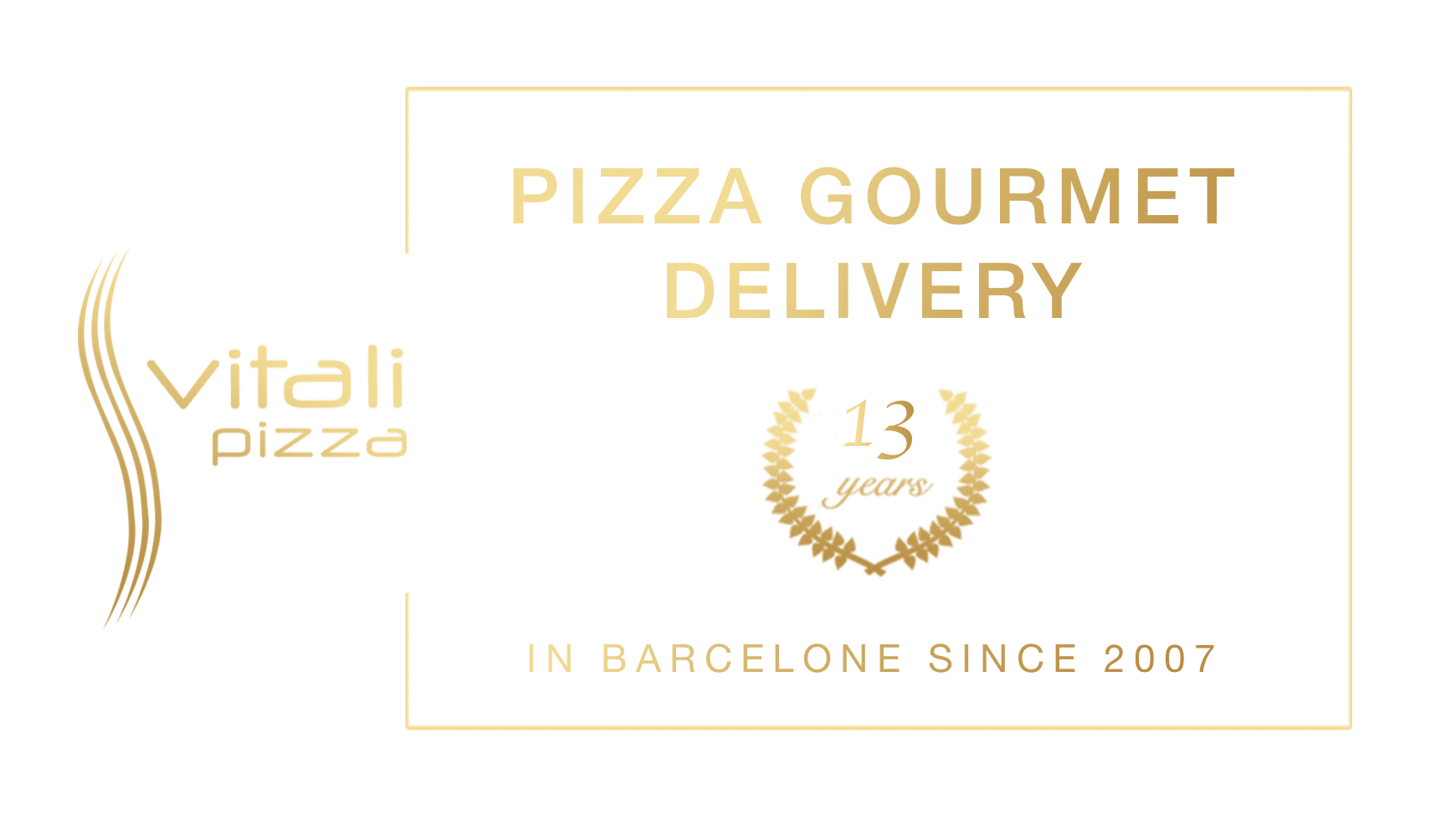 Banner - Vitali Pizza - Home Delivery Barcelona