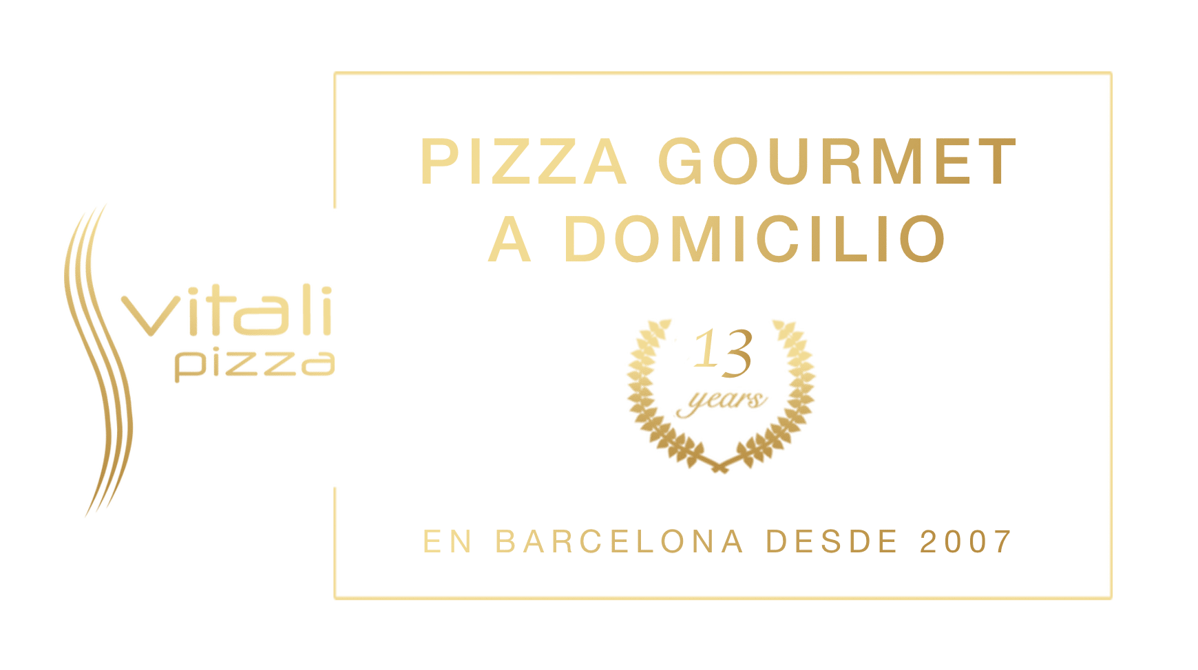 Banner - Vitali Pizza - Delivery - Entrega y reparto de pizzas a domicilio en Barcelona