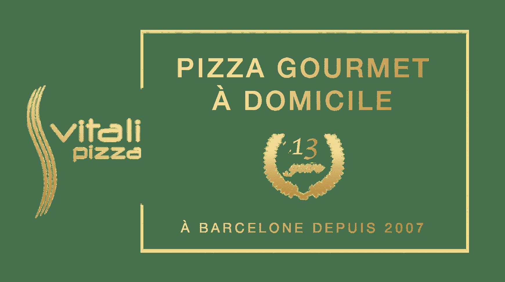 Banner - Vitali Pizza - Livraison de pizzas à domicile à Barcelone